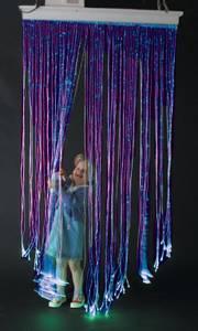 Bilde av Fiberoptisk gardin med svingbar brakett.