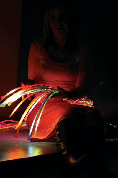 UV Jumbo fiberoptikk 12 tr 1 m