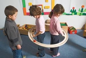 Bilde av Balansering gruppelek