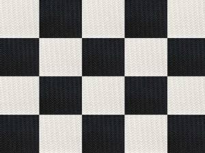 Bilde av Hvit/svart Challenger Multihuske - 136X66