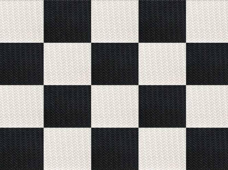 Hvit/svart Challenger Multihuske - 136X66