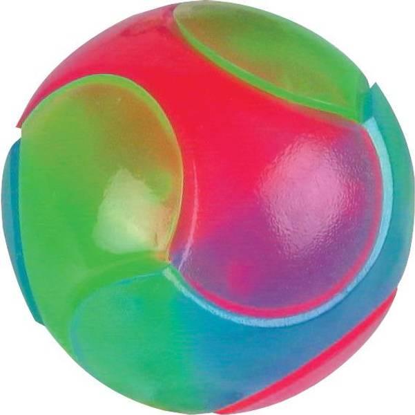 Ball med sprett/lys 6 cm