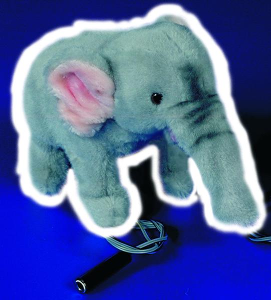 Bryterstyrt elefant