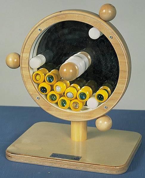 Speilsnurre med kuler
