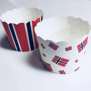 Bilde av 24 stk 17.mai cake cups