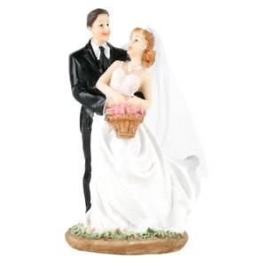Bilde av Kaketopp brudepar, dansende