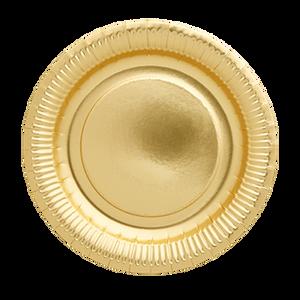 Bilde av 8 stk pappasjetter gull ø23cm