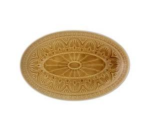 Bilde av Rani ovalt fat 39cm - oker