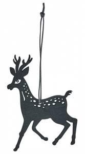 Bilde av reinsdyr tre 15cm sort