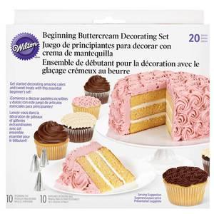 Bilde av dekoreringssett kake