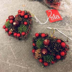 Bilde av Juletrepynt Hjerte 8cm