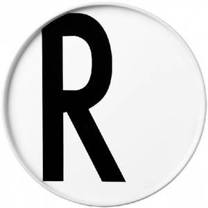 Bilde av design letters R asjett 22cm