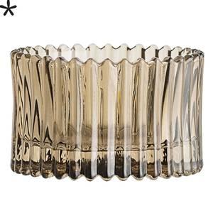 Bilde av telysestake brunt glass