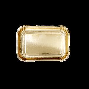 Bilde av 6 stk pappasjetter 16x24 gull