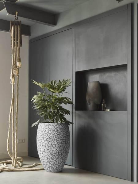 Capi Tutch Vase Elegant Deluxe Leire Elfenben 72cm
