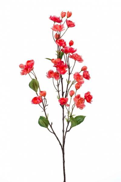 Kunstig Kirsebær Gren Fuchsia 92cm