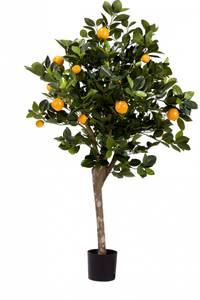 Bilde av Kunstig Appelsintre 120cm