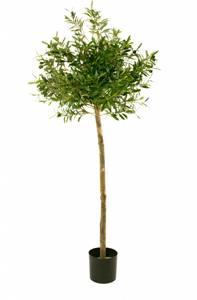 Bilde av Kunstig Oliventre med Oliven 155cm