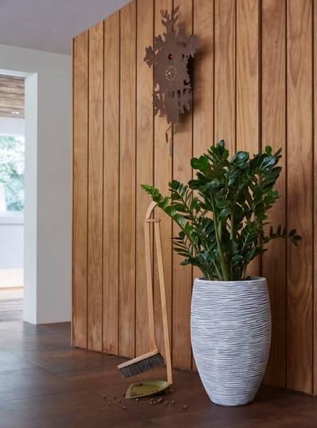 Capi Tutch Vase Elegant Deluxe Rib Elfenben 72cm