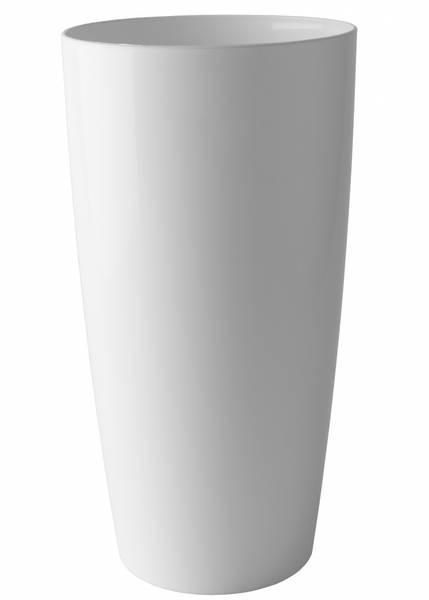 Design Potte Santorini Hvit 78cm