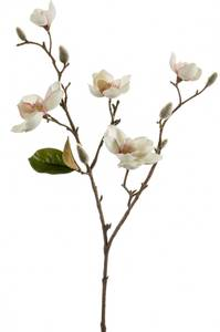 Bilde av Kunstig Magnolia Stilk Krem/Rosa 65cm
