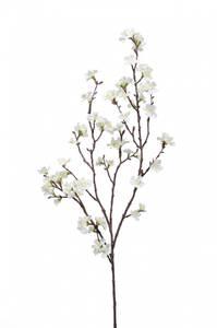 Bilde av Kunstig Sakura Gren Kremhvit 95 cm