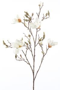 Bilde av Kunstig Magnolia Gren Kremhvit 105cm