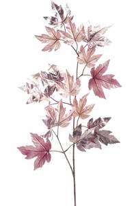 """Bilde av Kunstig Maple """"Metalic"""" Gren Rosa 115cm"""