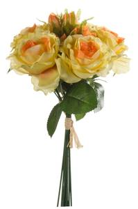 Bilde av Kunstig Rosebukett 30cm med 6 roser