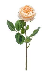 """Bilde av Kunstig Rose """"Jenny"""" Gul 60cm"""