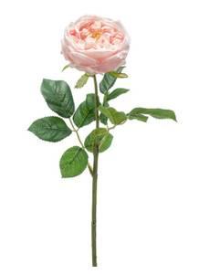 """Bilde av Kunstig Rose """"Jenny"""" Fersken 60cm"""