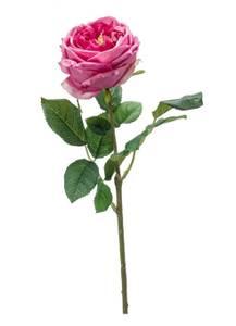 """Bilde av Kunstig Rose """"Jenny"""" Rosa 60cm"""