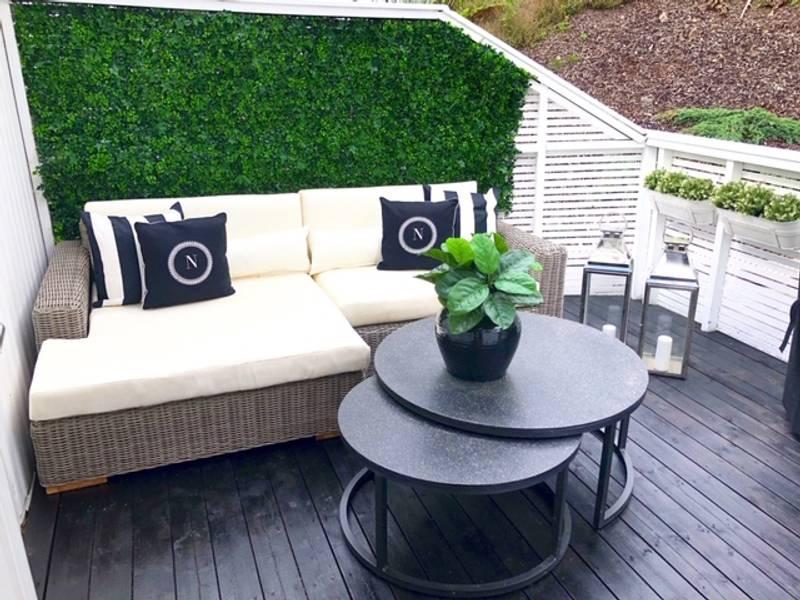 Kunstig Hagemiks Plantevegg Matte UV 50x50cm