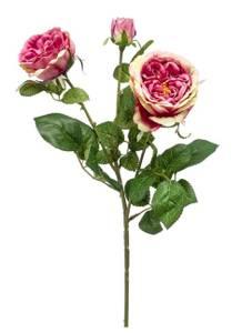 Bilde av Kunstig Rose Gren Rosa/Lilla 58cm