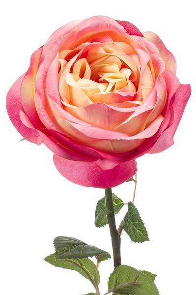 "Kunstig Rose ""Vicky"" Rosa 66cm"