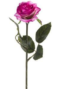 """Bilde av Kunstig Rose """"Simone"""" Lys Lilla 45cm"""