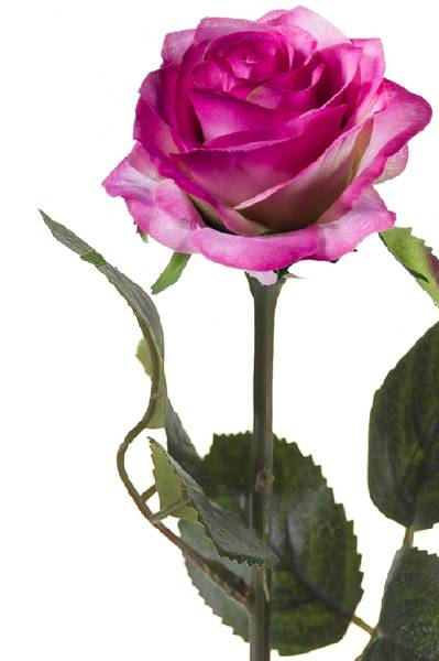 "Kunstig Rose ""Simone"" Lys Lilla 45cm"