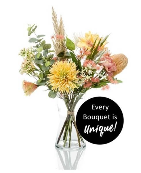 Kunstig Blomsterbukett