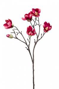 Bilde av Kunstig Magnolia Stilk Rosa 65cm