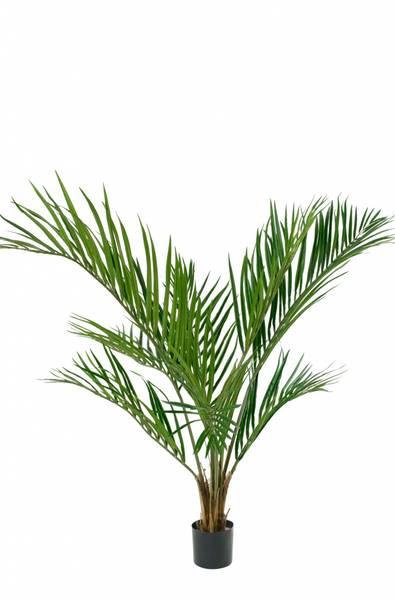 Kunstig Areca Palme Plante 120cm