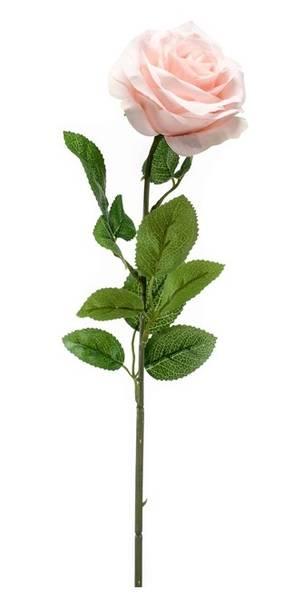 Kunstig Rose Marleen Fersken 63cm