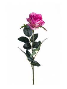 """Bilde av Kunstig Rose """"Simone"""" Lys Lilla 73cm"""