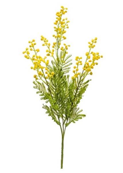 Kunstig Mimosa Gren Gul 68cm