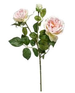 Bilde av Kunstig Rose Gren Rosa 58cm