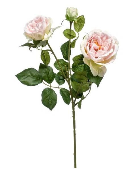 Kunstig Rose Gren Rosa 58cm