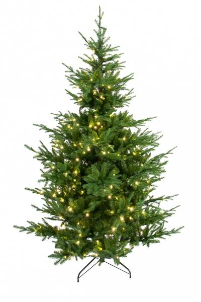Kunstig Gran Verde 240 LED-Lys 180cm