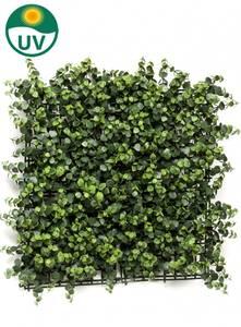 Bilde av Kunstig Eukalyptus Plantevegg Matte UV 50x50cm