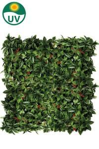 Bilde av Kunstig Photinia Plantevegg Matte UV 50x50cm