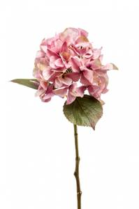 Bilde av Kunstig Hortensia Stilk Rosa 47 cm