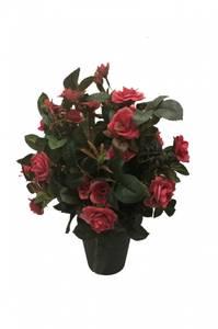 Bilde av Kunstig Rosebusk Rosa i Potte 35cm